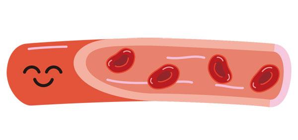 サラサラ血液イメージ