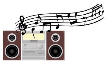 ラジオで音楽を聴く