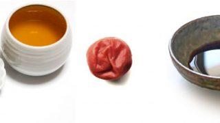梅醤番茶 材料