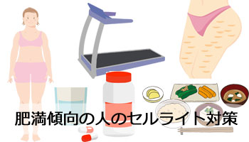 肥満体型の人のセルライト対策