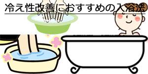 冷え性改善入浴法